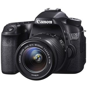 Canon EOS 70D+18-135mm IS STM Lens Digital Camera